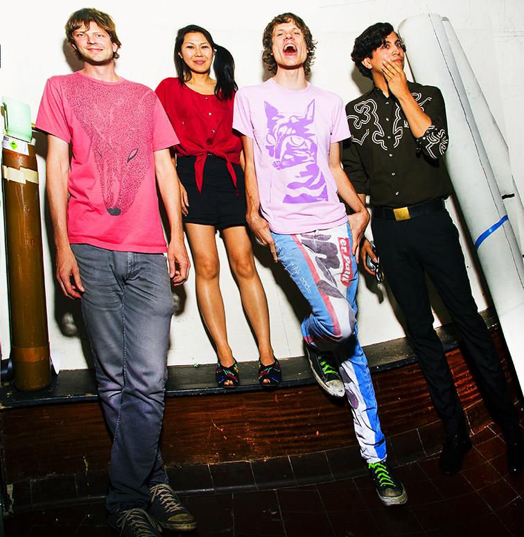 DeerHoof Backstage, London