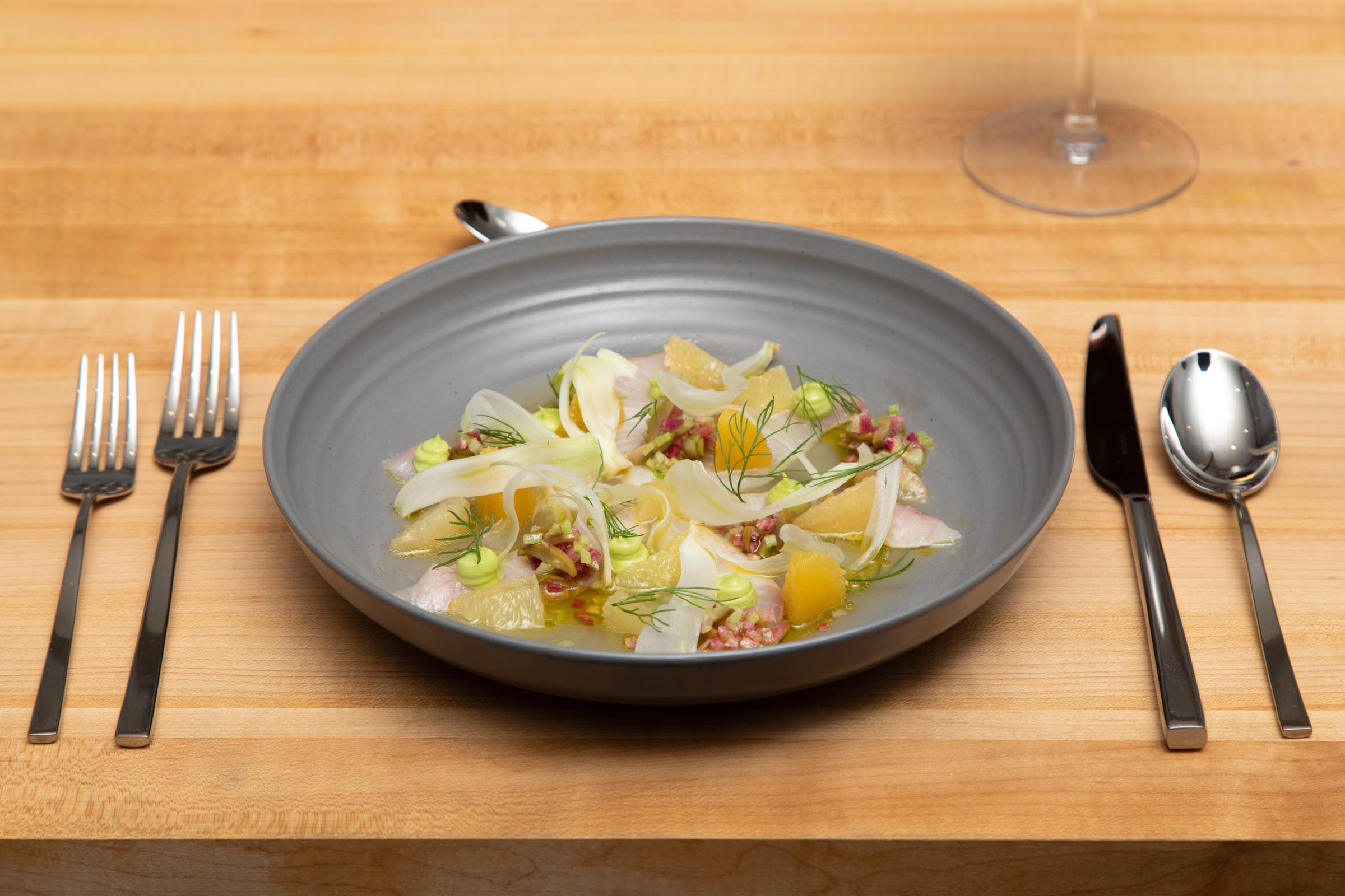 Plated Meals - Individually plated dining experiences are elevated meals that allow the chef to guide you on a journey.