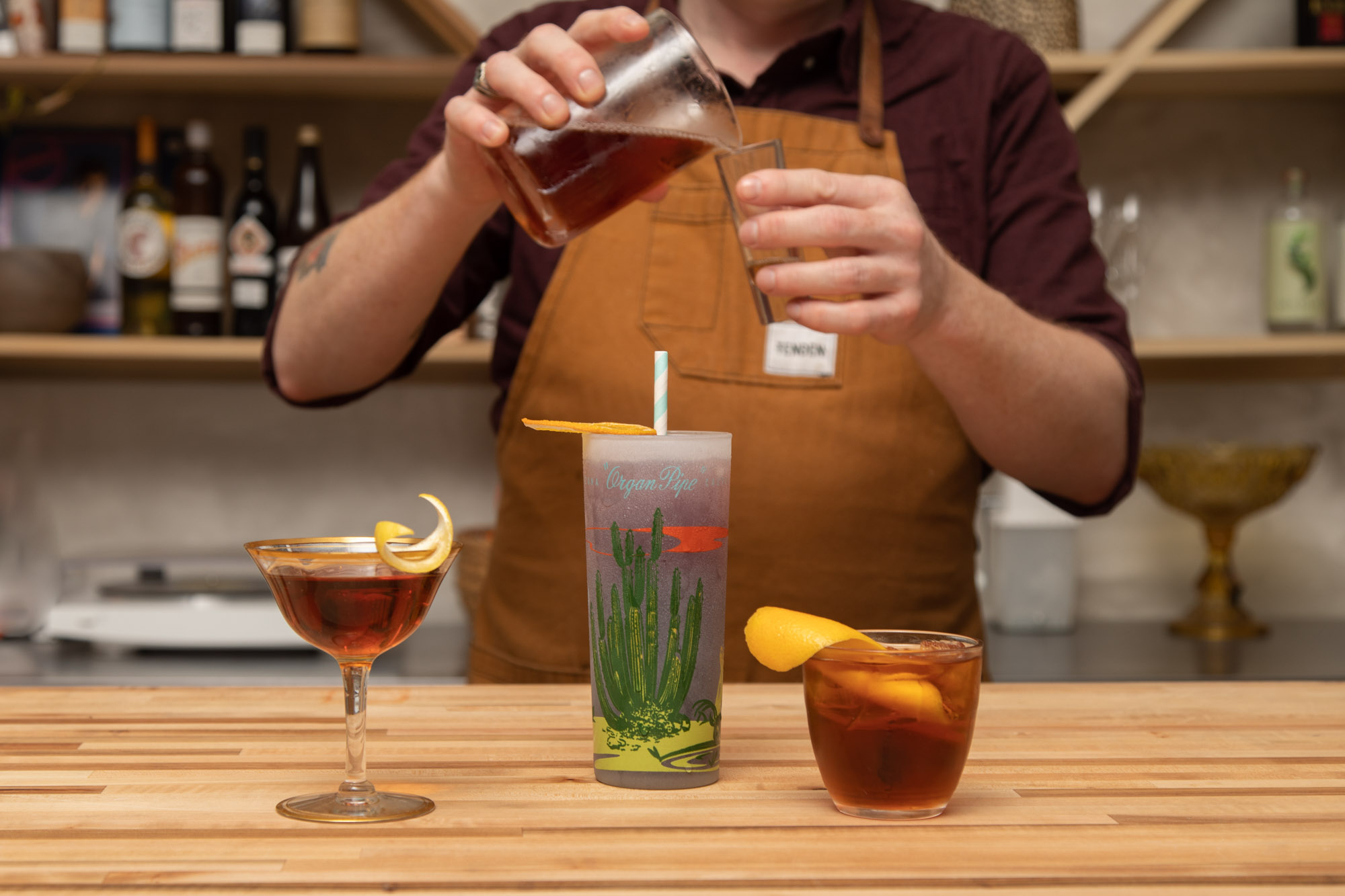 Session Cocktails - A benefit of low ABV cocktails is that they compliment a long night of imbibing with friends… more of the fun with slightly less punch than your traditional cocktails yet decidedly delicious.