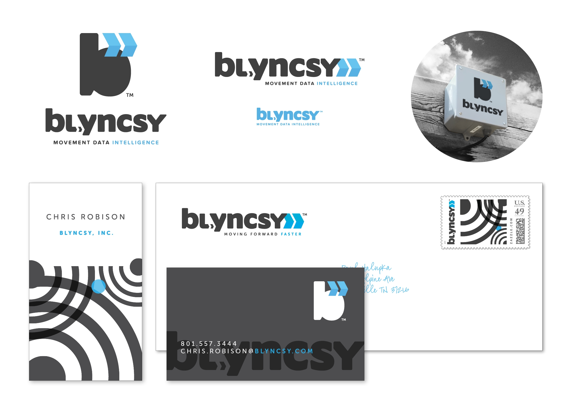 blyncsy: brand suite