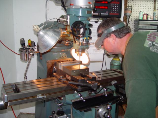 "Disabled American Veteran Robert ""ZIG"" Hensley Learning Basic Machine Shop Skills in a Tactical Shooting Academy (TSA) Gunsmithing Class…"