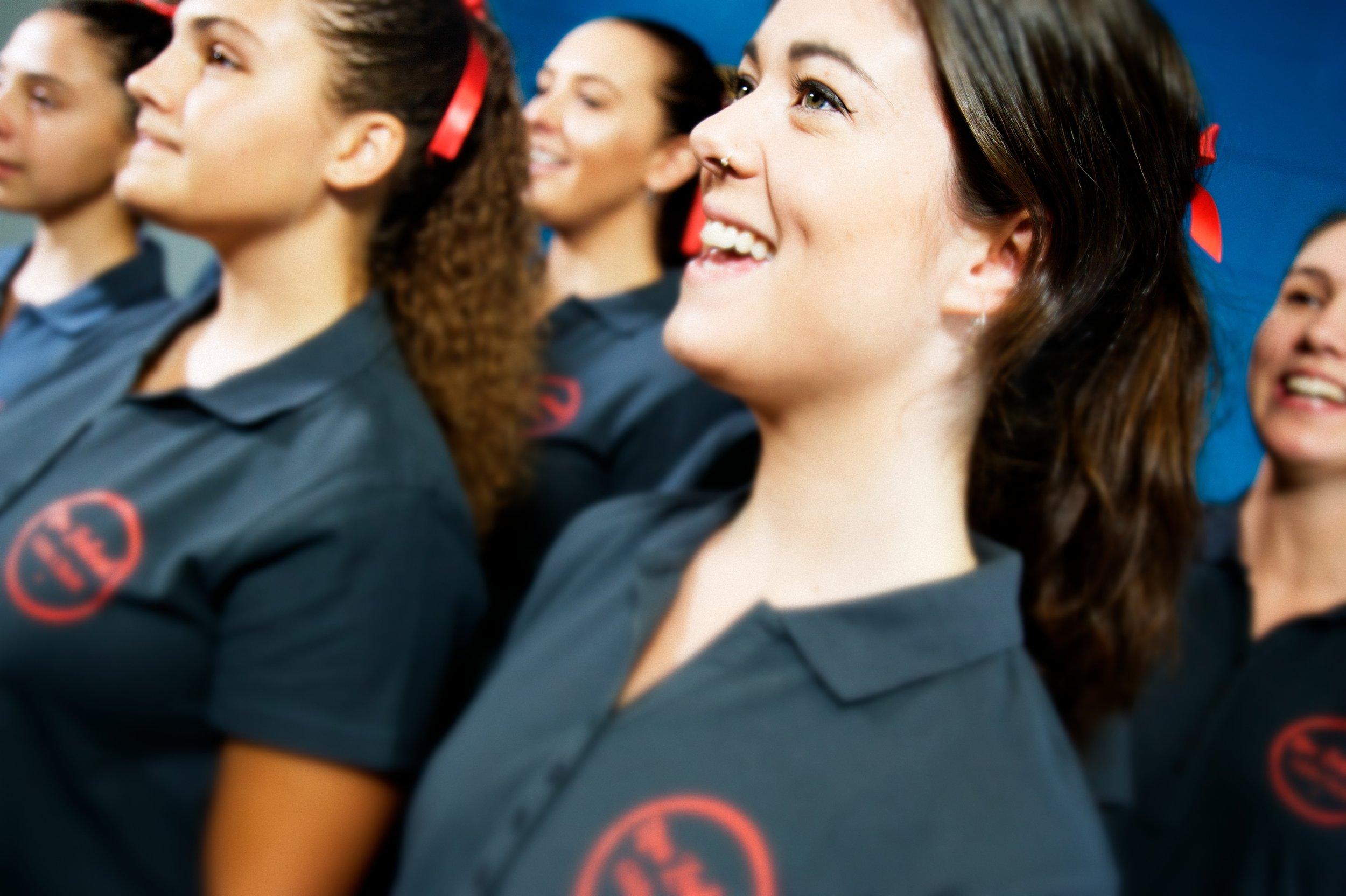 New Zealand Girls Choir Concert Level