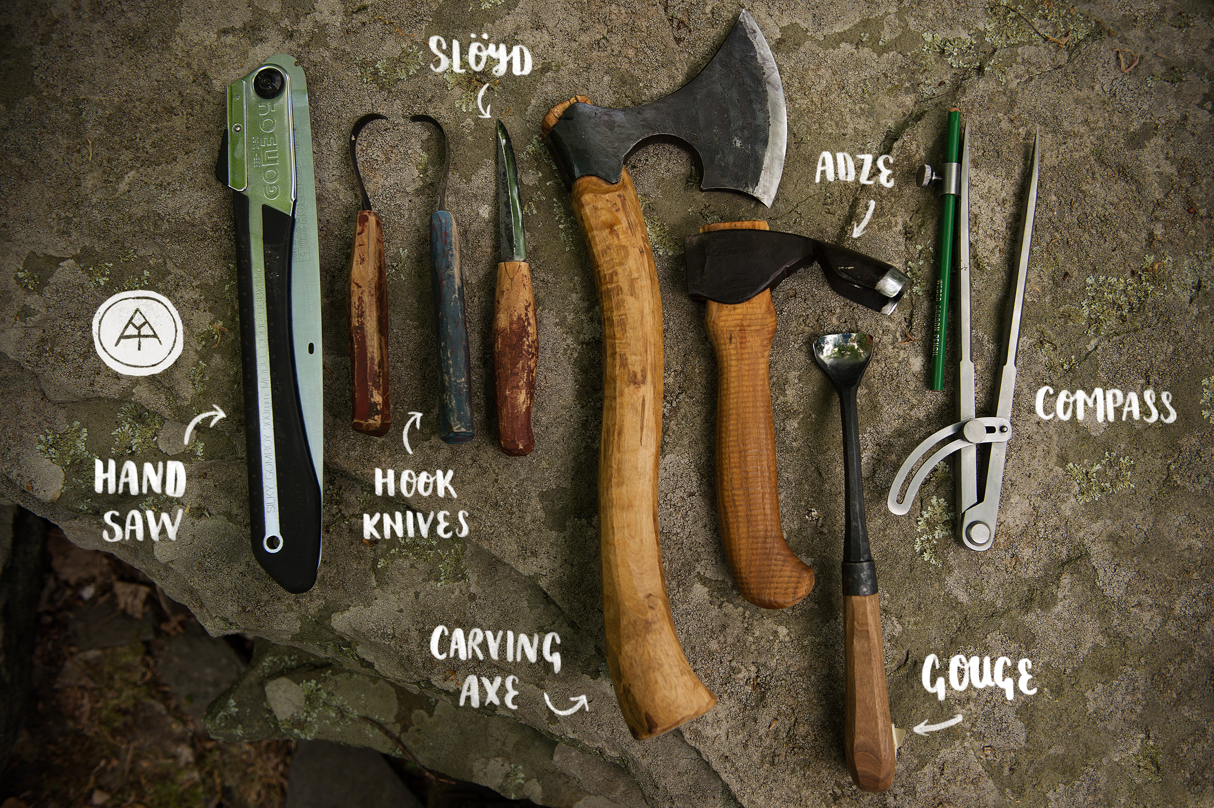 Spoon and Kuksa carving kit