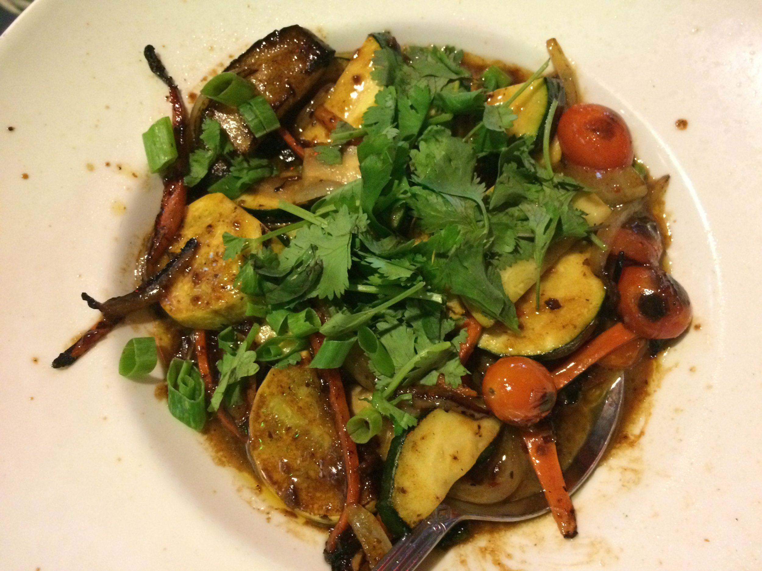 WOK TOSSED LOCAL VEGETABLES