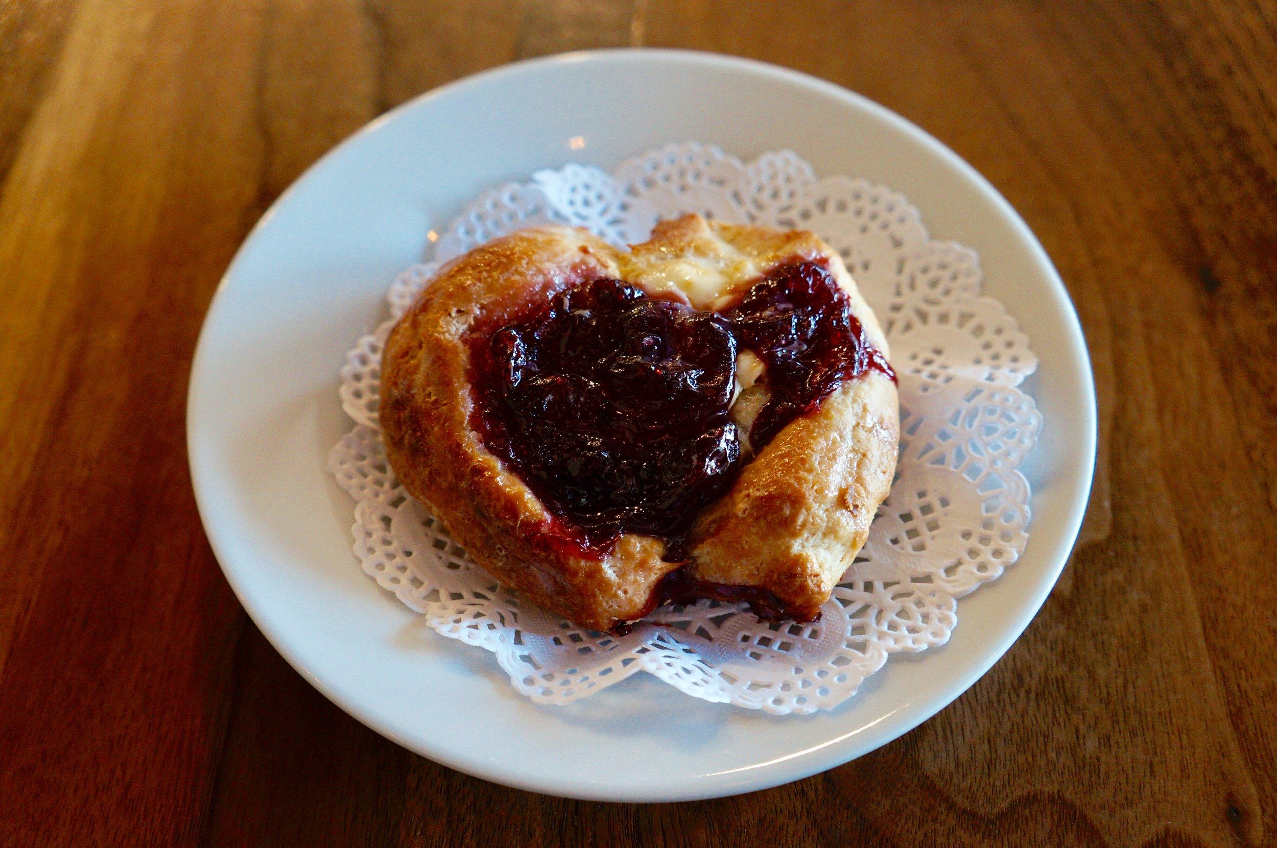 Lingonberry Danish
