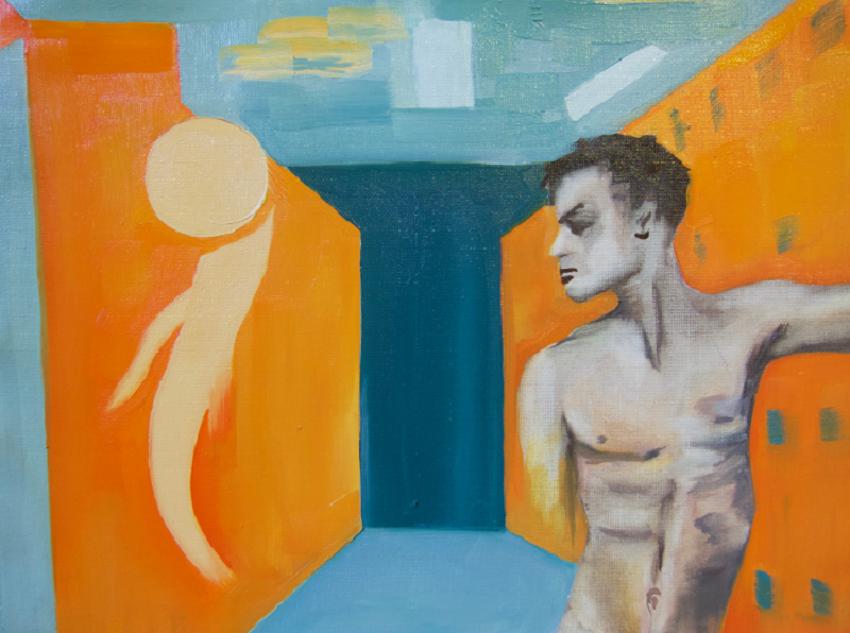 OK , oil on canvas