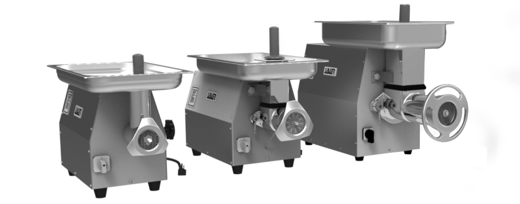 The Project - The brief for the project was simple: To redesign the commercial meat-grinder family range MC( 12, 22, 32M ), To compete internationally with the most renowned brands in the area. The products were required meet international standards for occupational safety and sanitation.