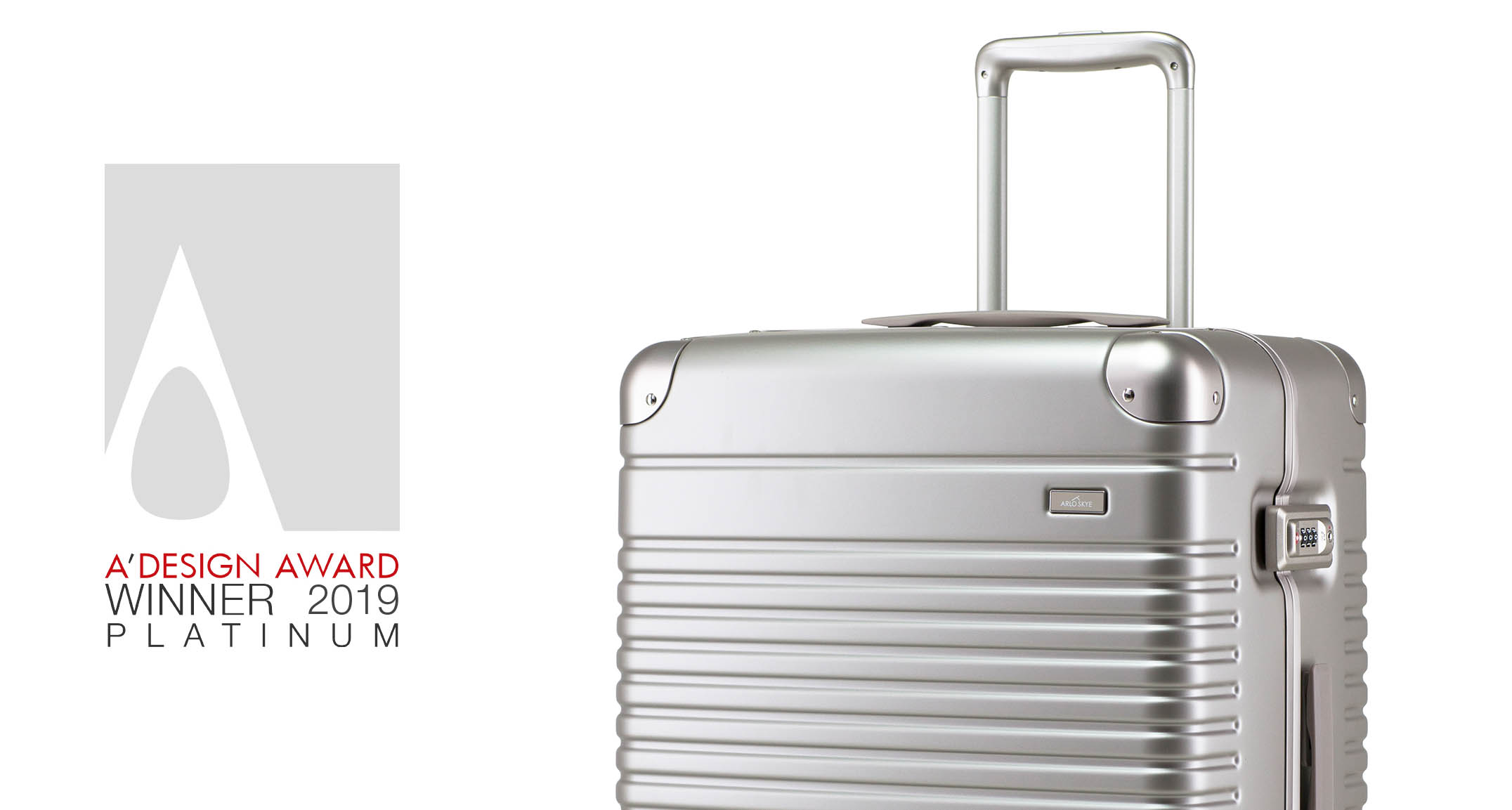 The Check-in received... - The Platinum A'Design Award in Fashion and Travel Accessories 2019