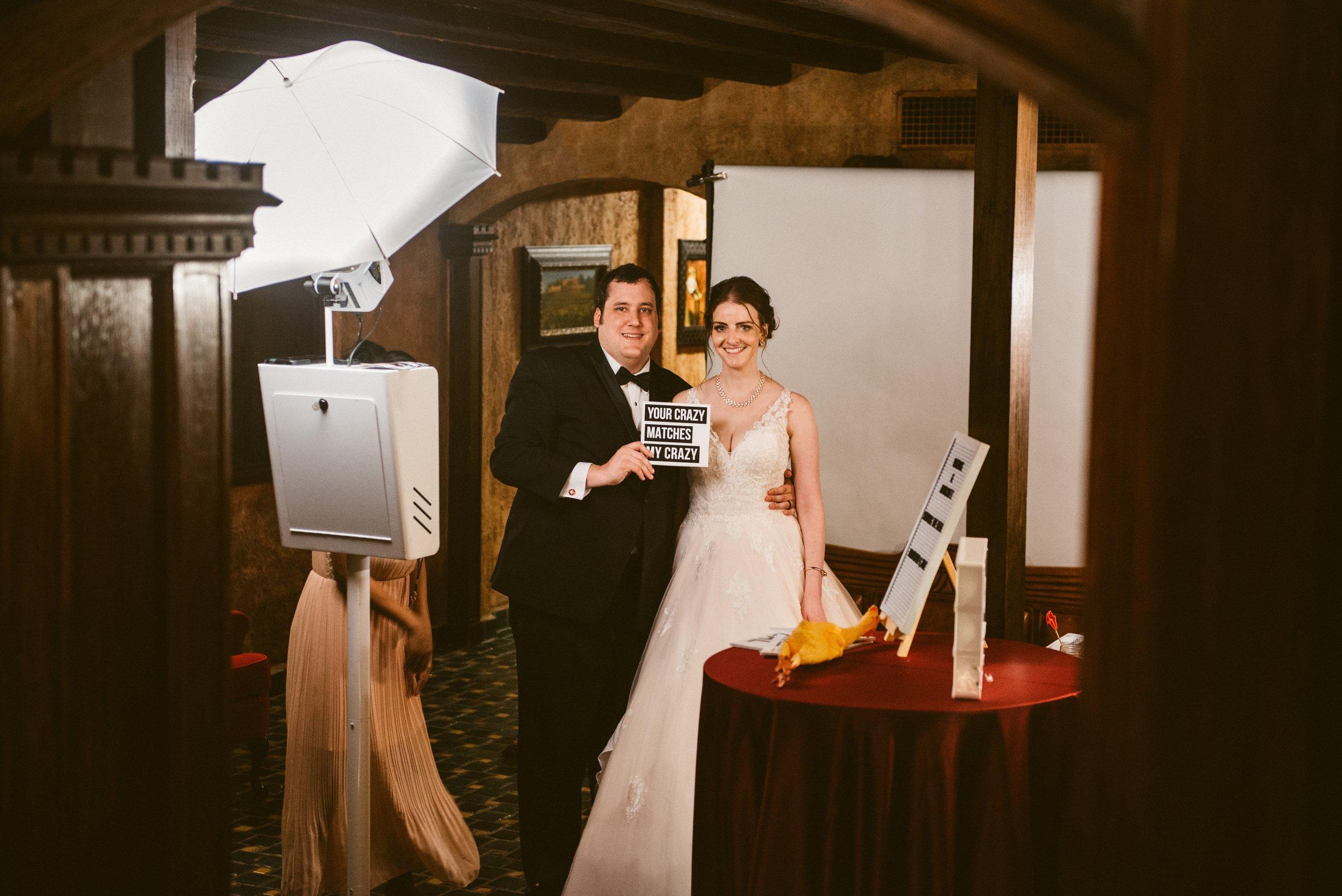 Photo booth tulsa wedding