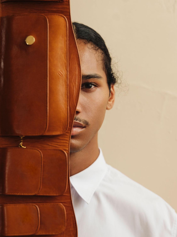 Anjuna belt bag in Toffee