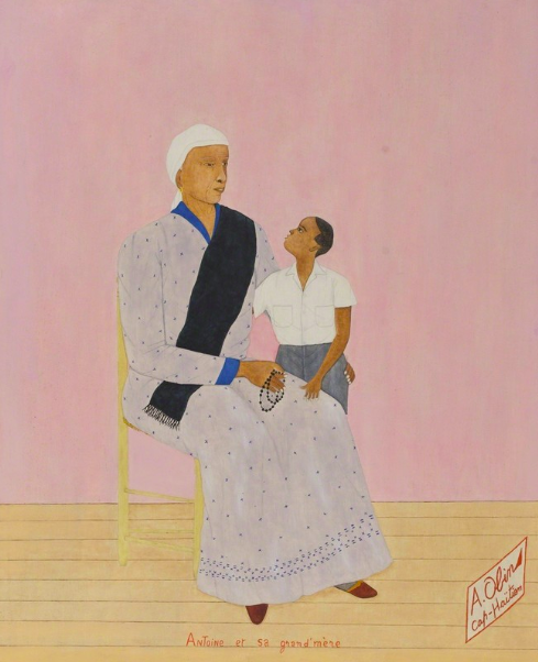 Antoine Obin |  Antoine et sa Grandmére/Antoine and his Grandmother  1960-1963