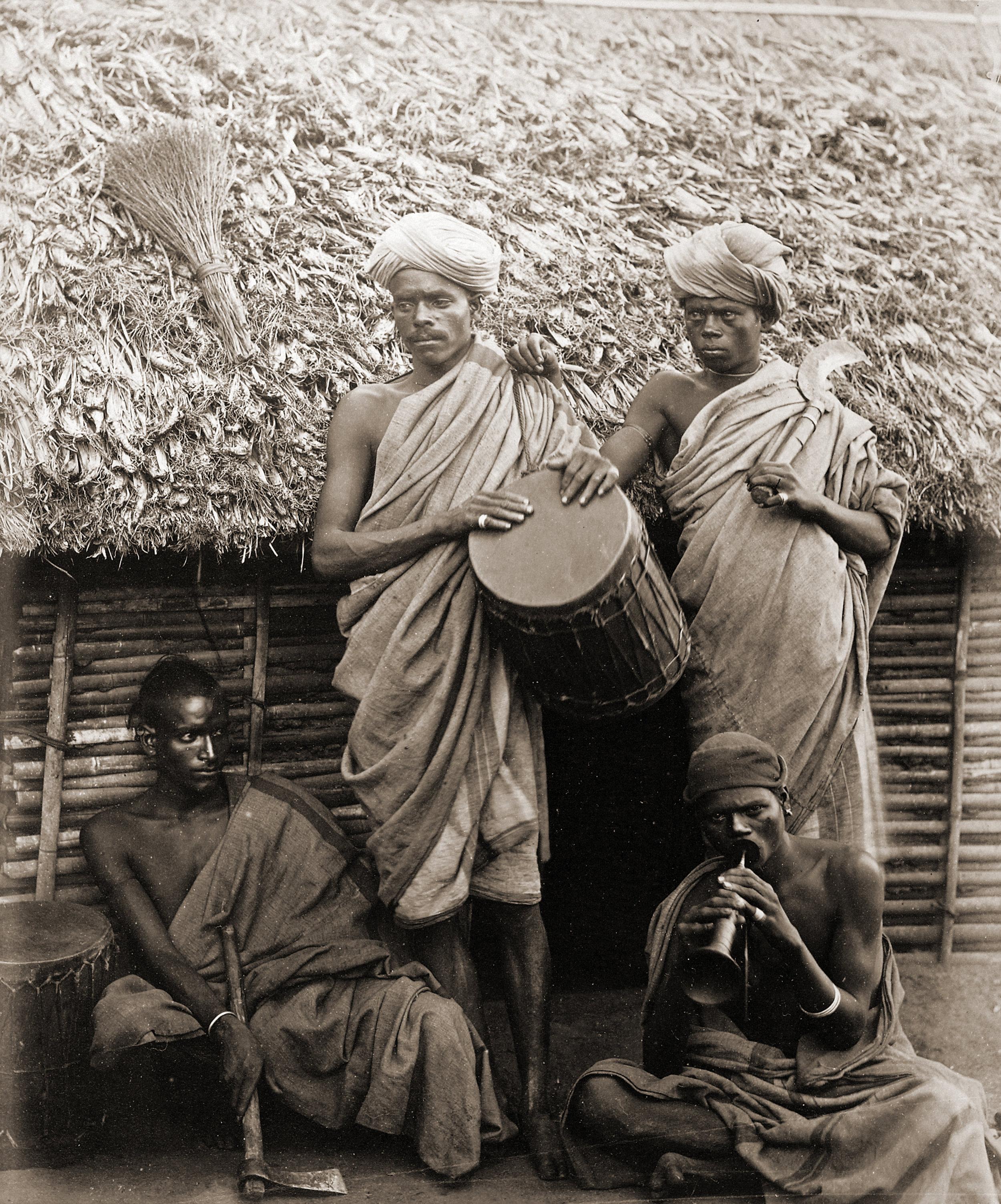 Irula men, 1871-72