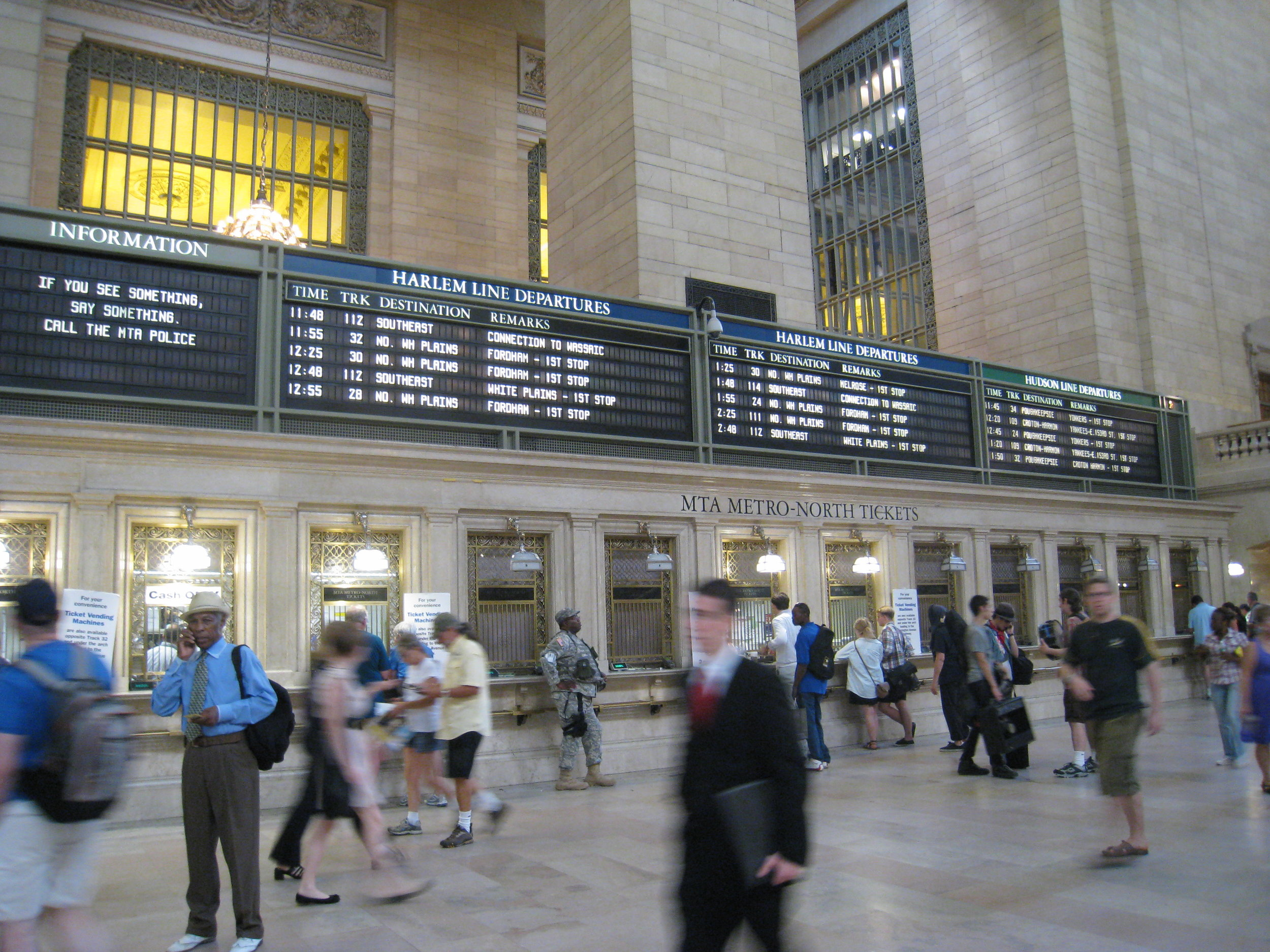 Grand Central Terminal, New York (Photo by M. Vardaman)