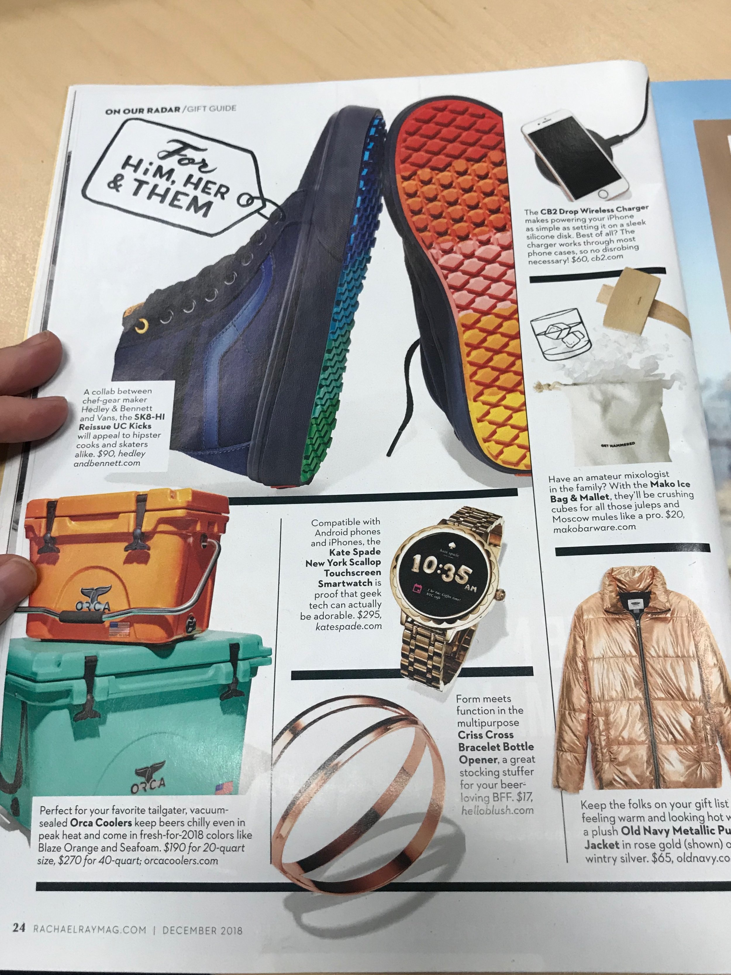 magazine holiday gift guides rachael ray 5.JPG