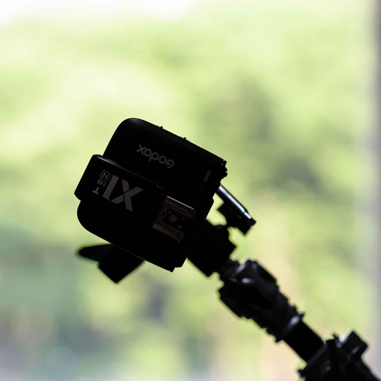 Godox X1/ワイアレス・トリガー  Kenkoが間に入ってる技適マーク付き。故障した場合の保険という意味も兼ねて。