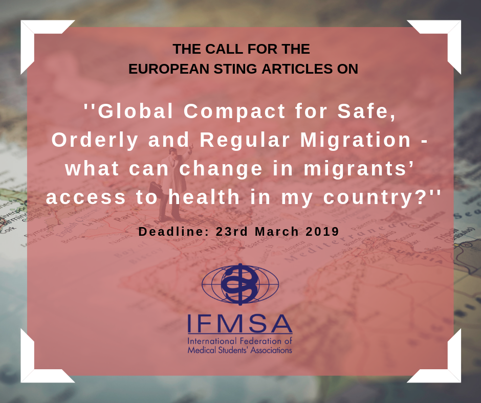 Articles for the European Sting — IFMSA-Jo