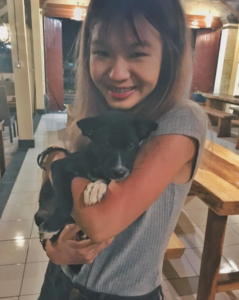 Image Source: Charmaine, featuring puppy Dayang