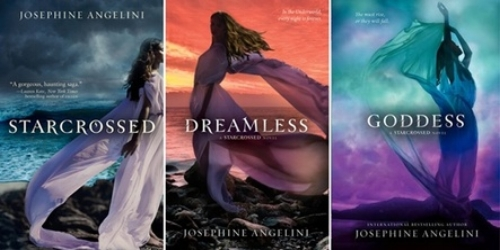 Image Source:  Starcrossed, Dreamless, Goddess (Trilogy)