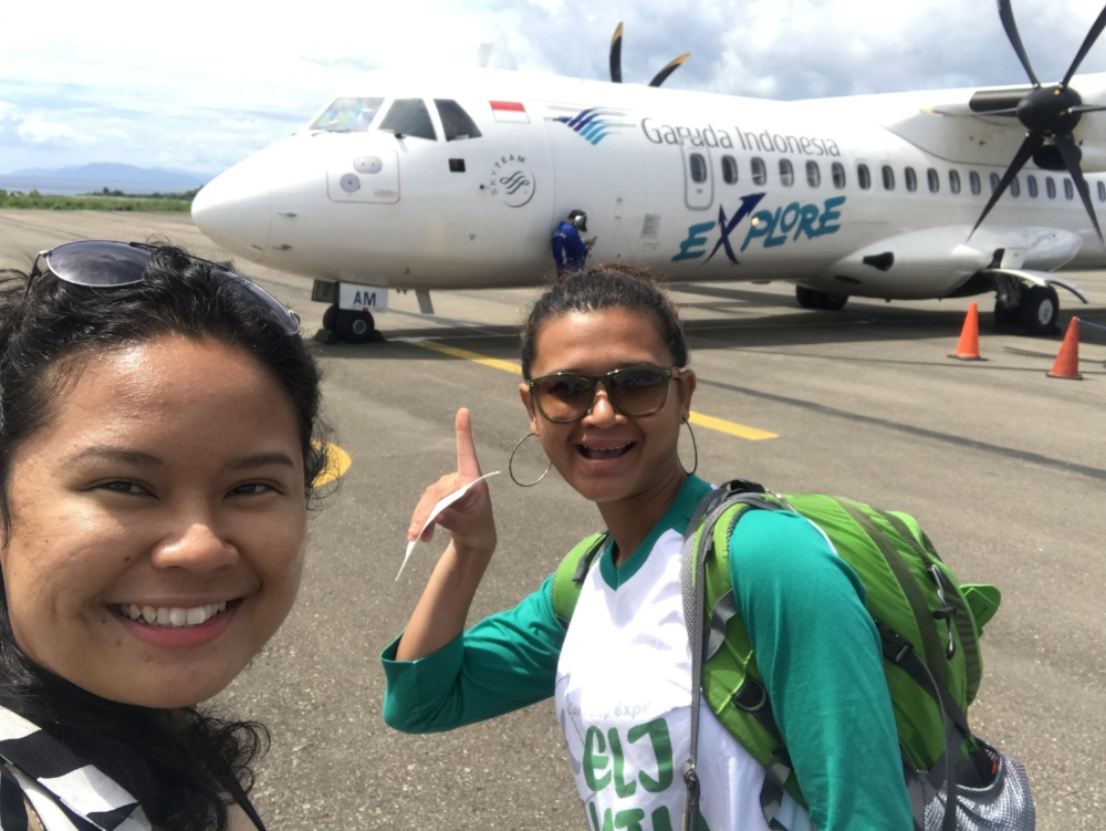 You know it's really ulu when there's a propeller plane involved. Image Source: Jaz