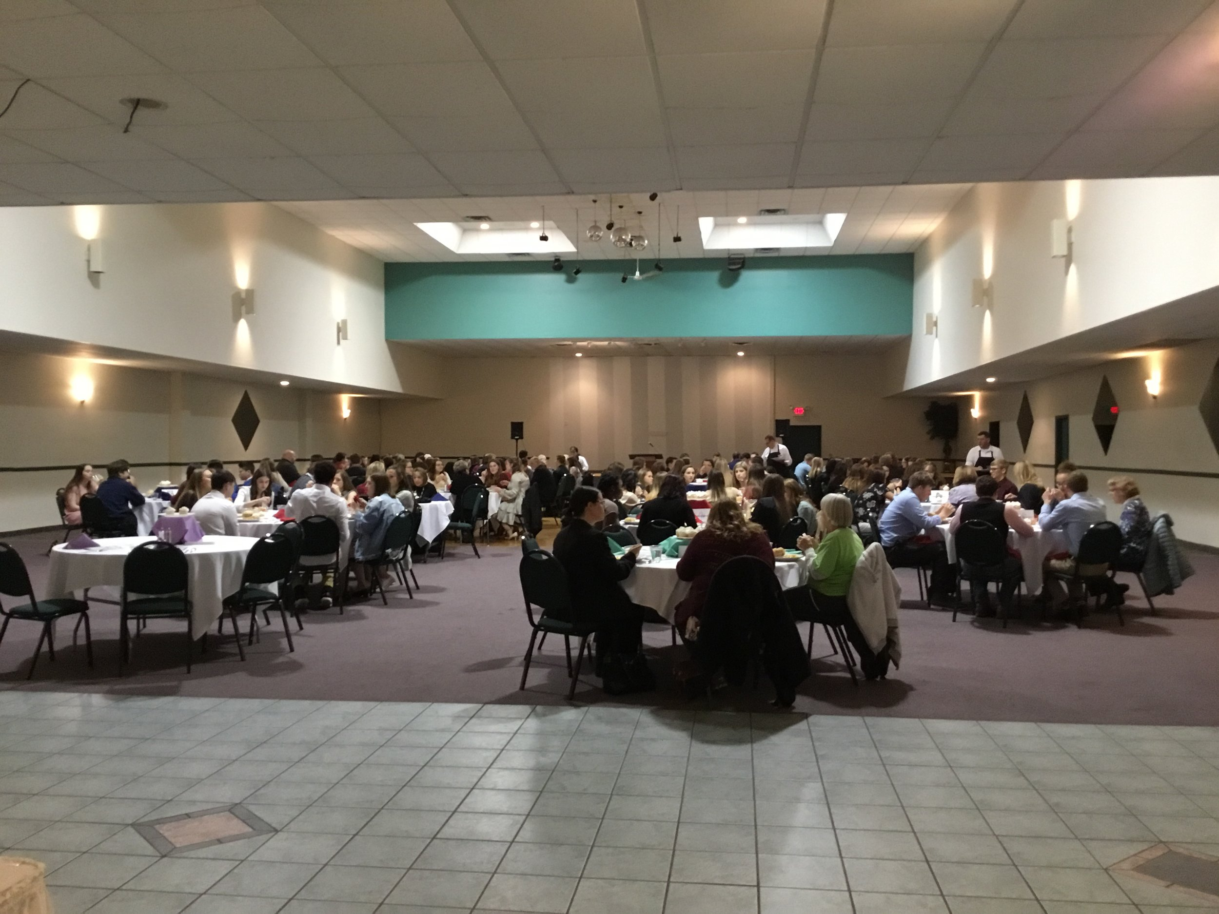 April 16, 2019 Youth Philanthropy Recognition Luncheon 2018-2019 at Andrus Banquet Center.