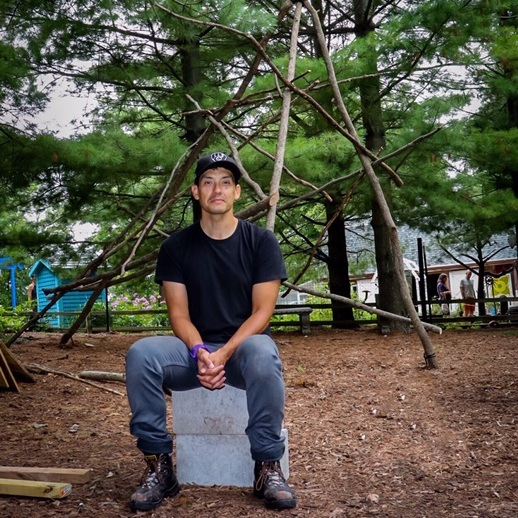 Chris Cornelius , 2018 Garden Artist in Residence