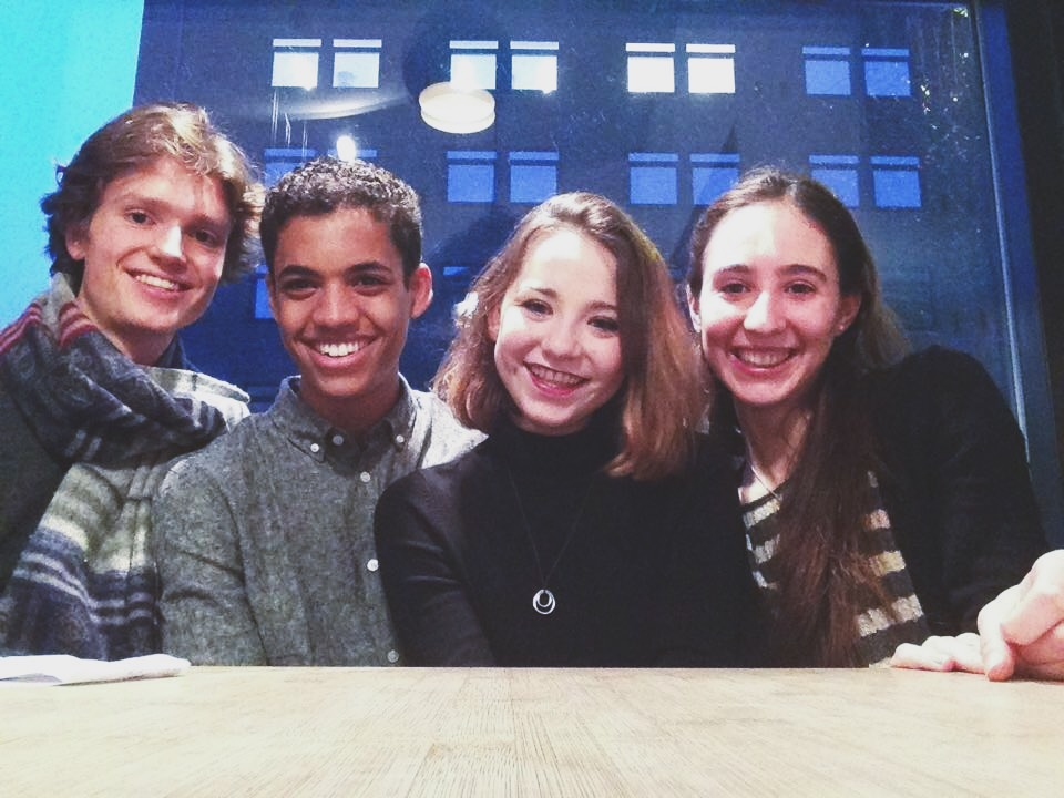 ^a photo of us as babies, three years ago, when I first came to CPH. ☺