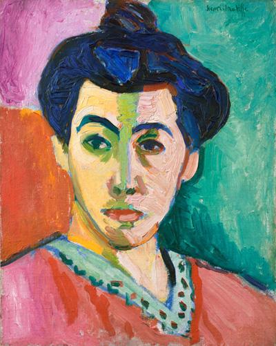 Portrait of Madame Matisse (1905)