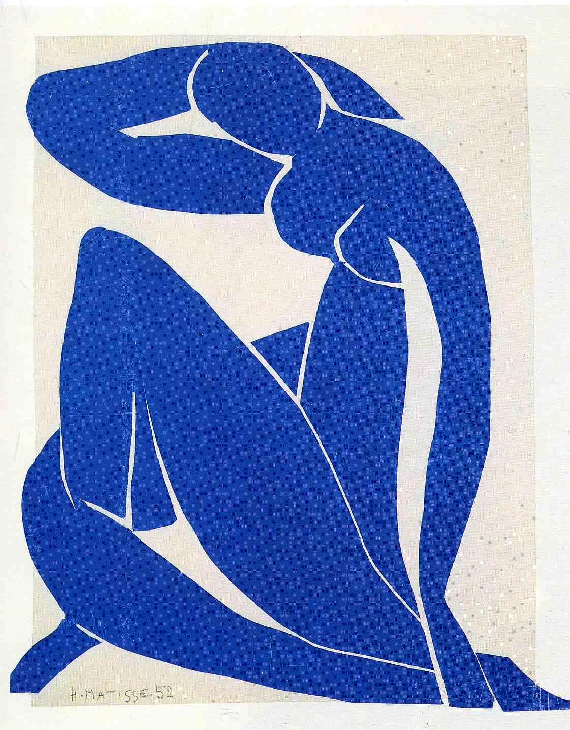 Blue Nude II (1952)