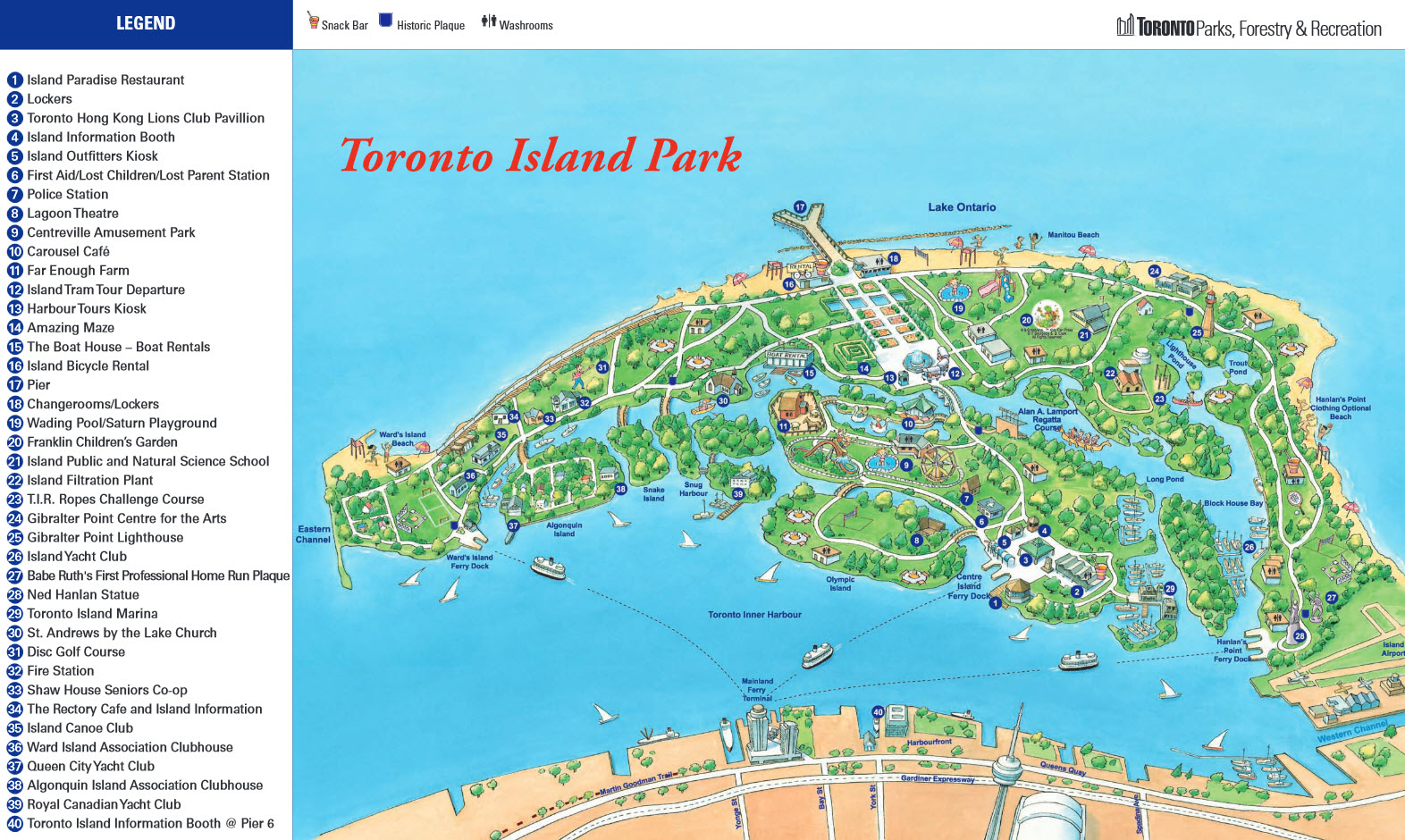 ** Image from Toronto Island website