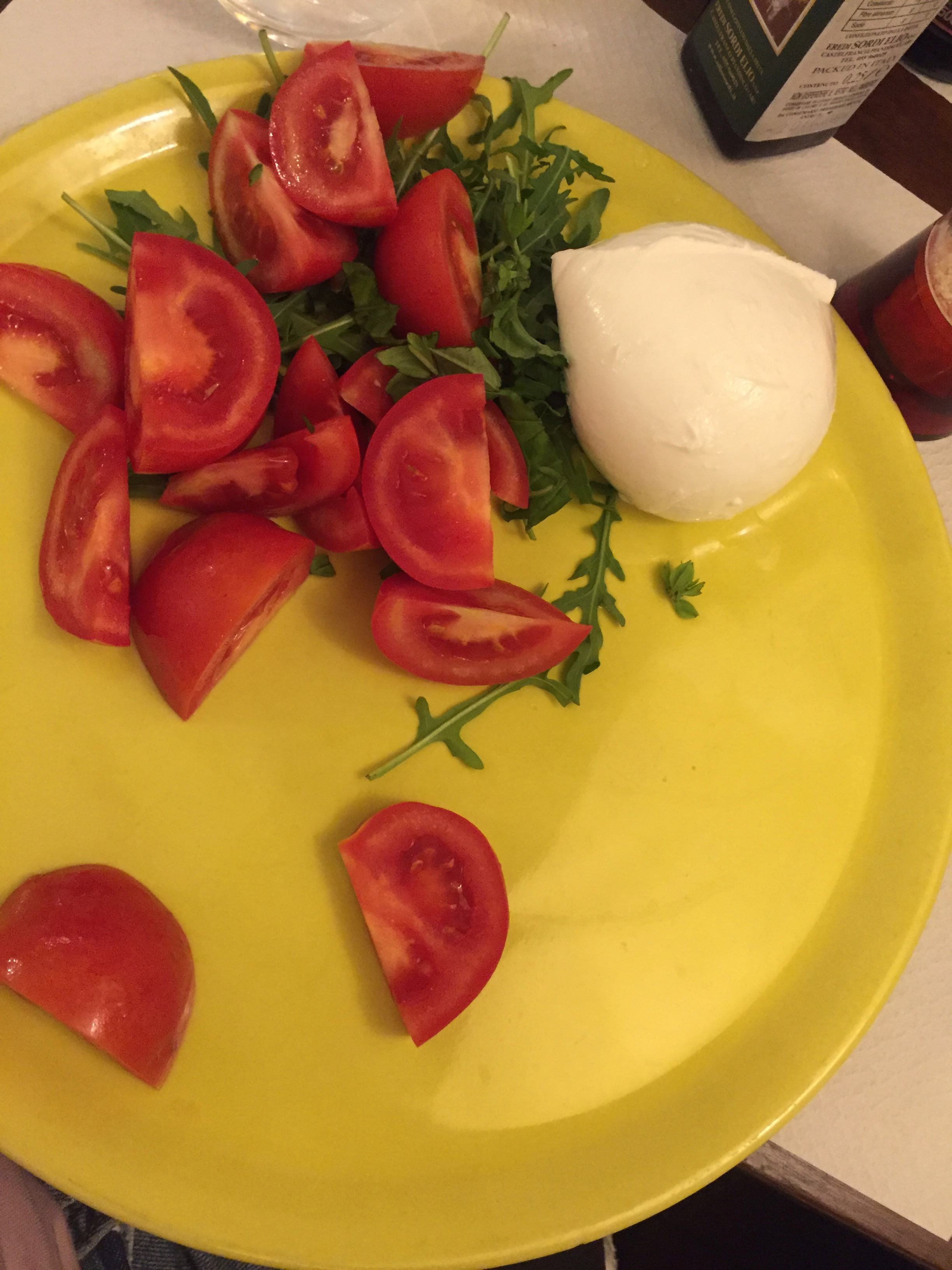 caprese salad at Cafe degli Artisti