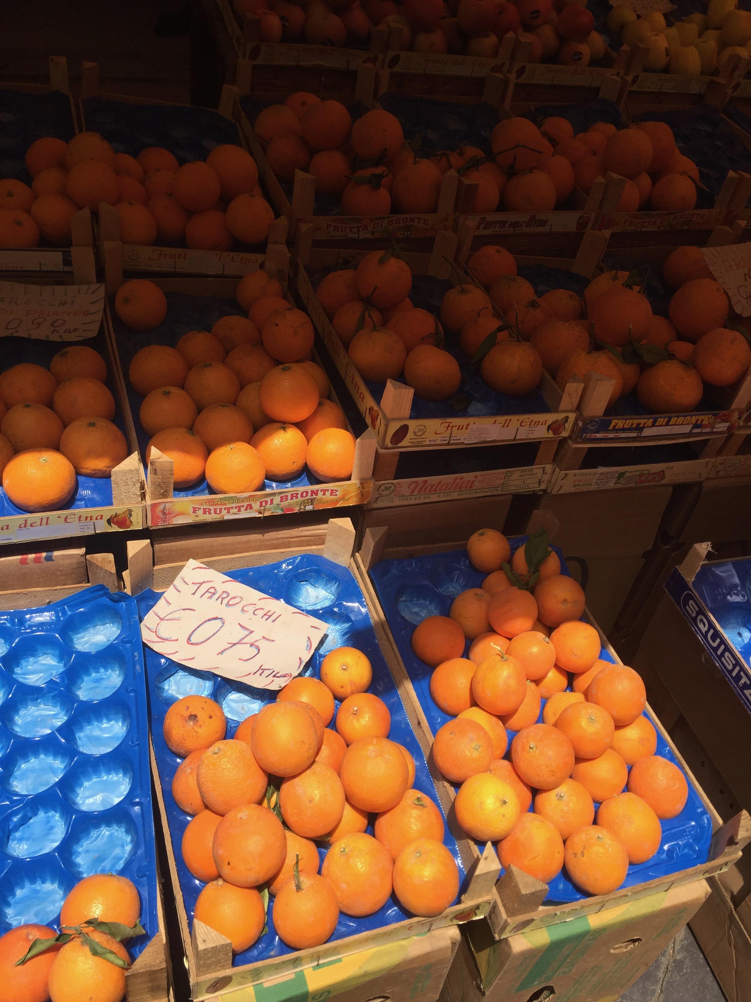 oranges of Sicilia
