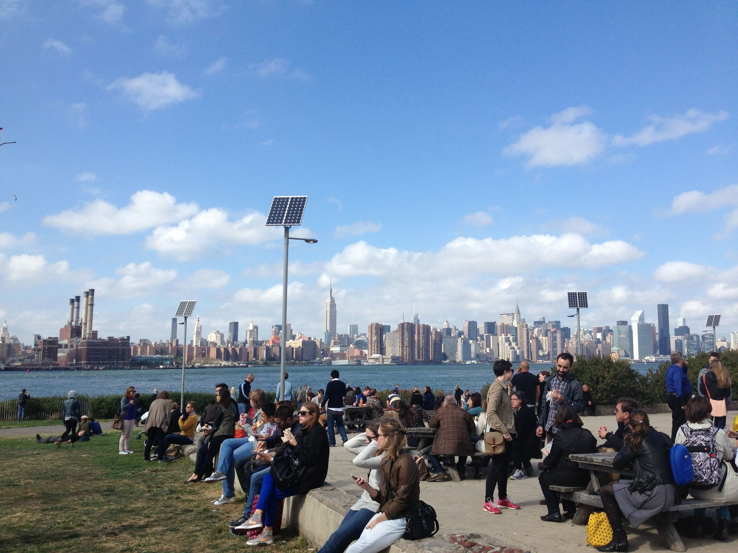 View of Manhattan from Williamsburg