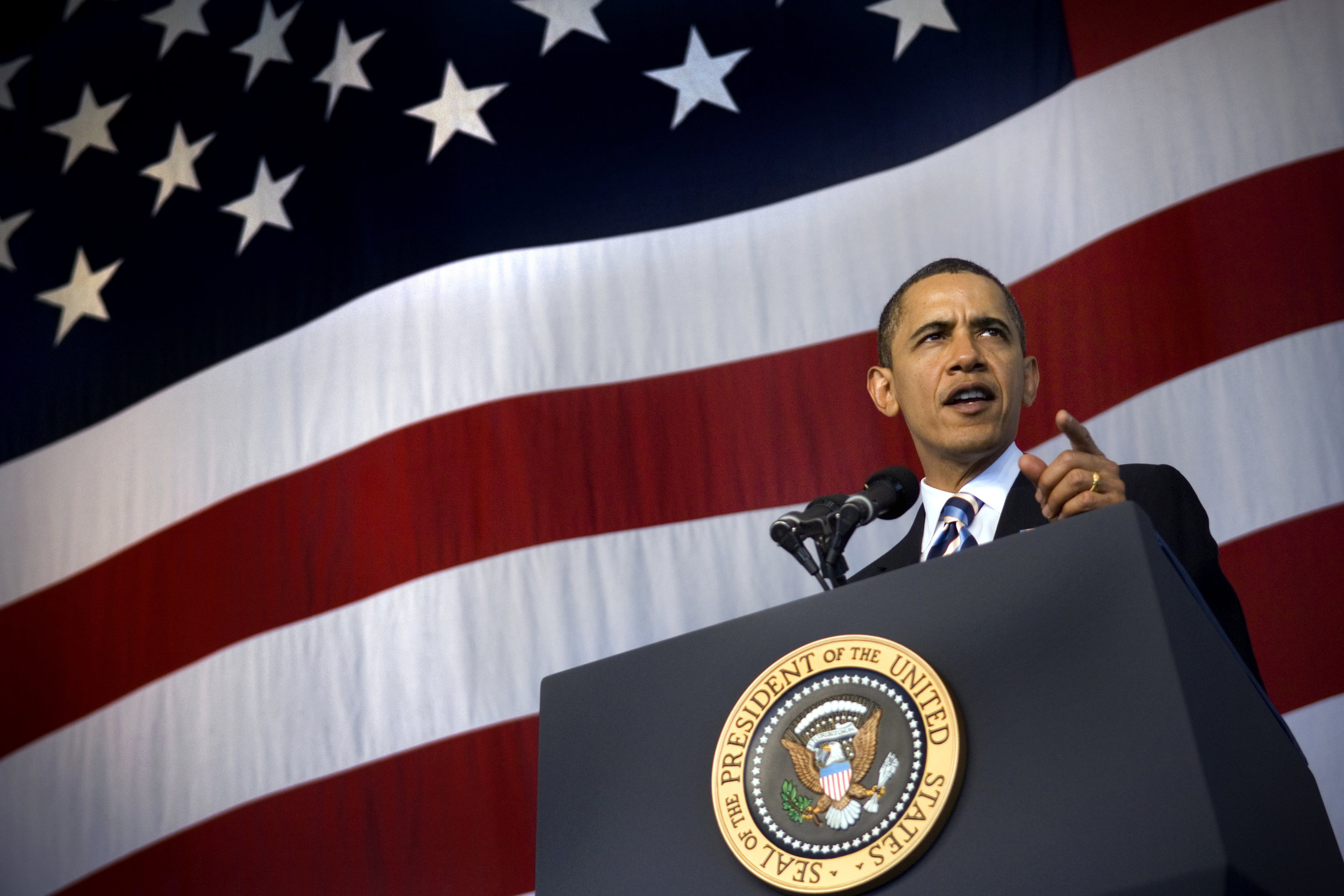 President Barack Obama: A true hero and the people's president Image credit:Kevin S. O'Brien