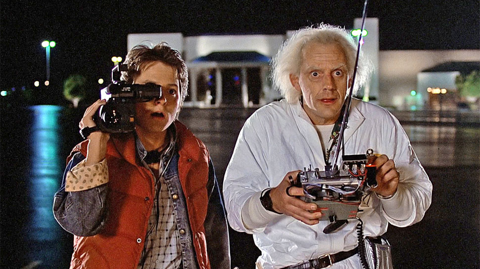 Back to the Future: Marty McFly and Doc Brown like to boogie at the Twin Pines Mall (Image credit:Universal Pictures)
