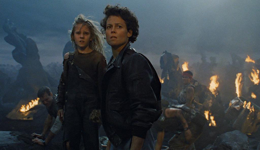 Ripley and Newt (Carrie Henn)assess the devastation in  Aliens  (Image: 20th Century Fox)
