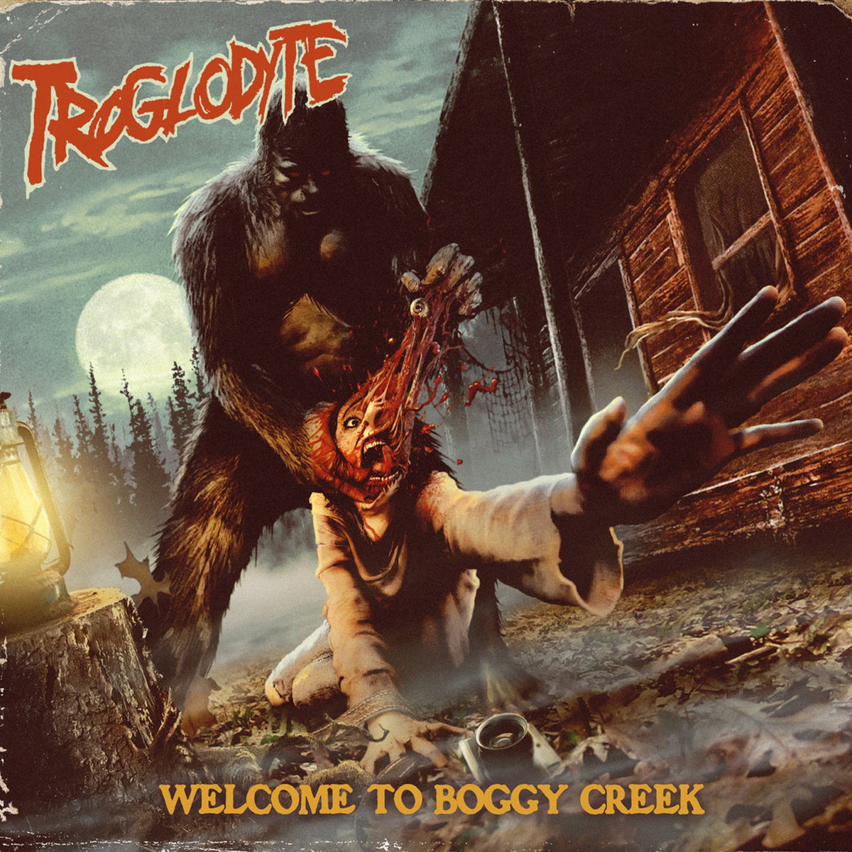 Album cover art of Troglodyte's  Welcome To Boggy Creek