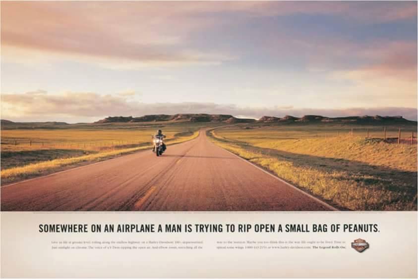 Image Credits: Harley Davidson Print Ad Catalogue May 2015.