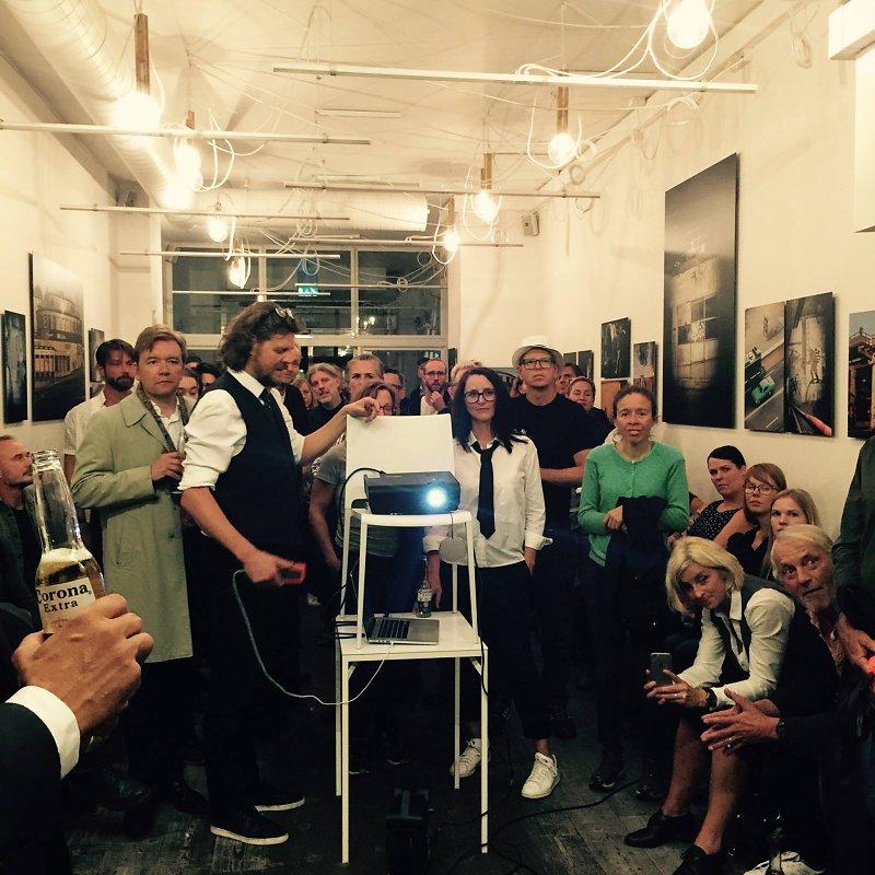 Launching the Requiem for Slussen, mvt 2 video