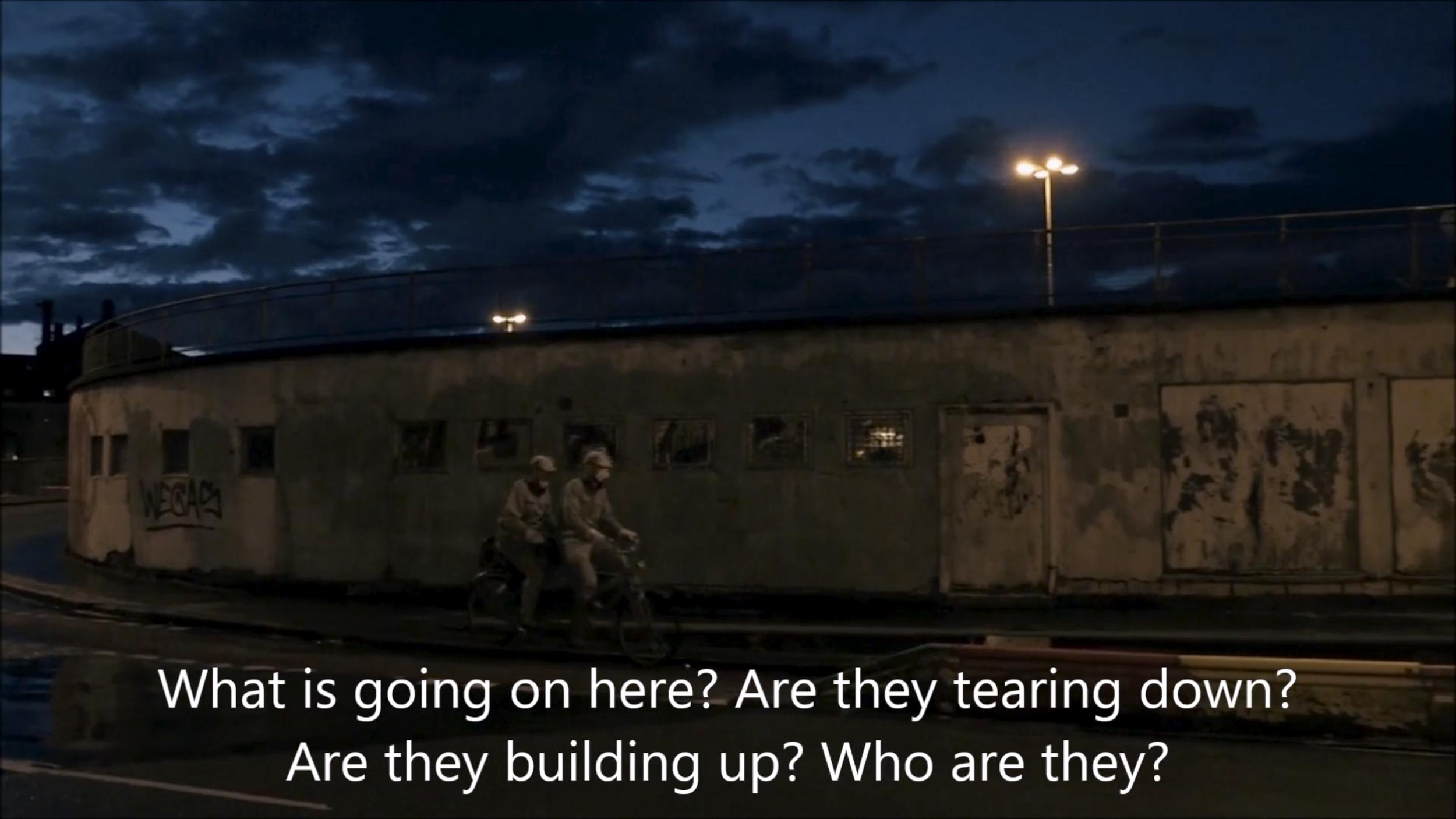 English version of the Requiem for Slussen, movement II video