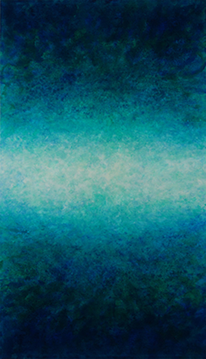 """Luminosity - Infusion Series 45""""h x 26""""w, oil on canvas"""