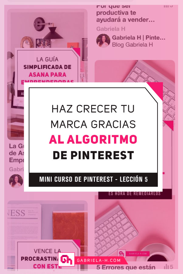 Como funciona el algoritmo de Pinterest