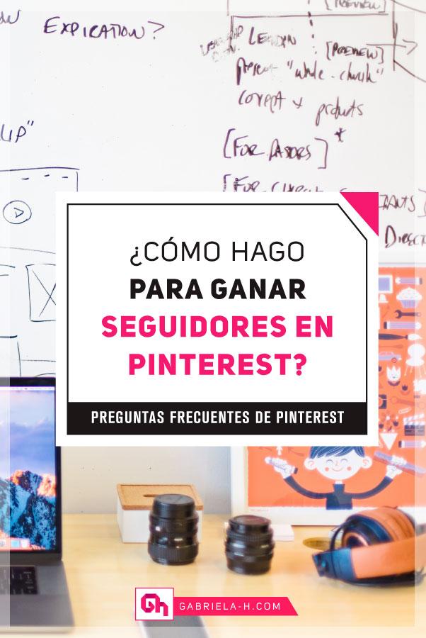 ¿Como ganar seguidores en Pinterest?