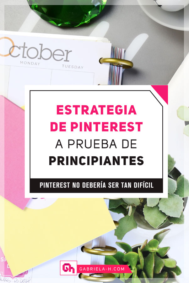 Pinterest Marketing a prueba de Principiantes #estrategias #pinterestmarketing #pinterestespañol #gabrielah