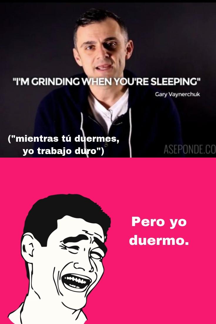 Meme Gary Vee #productividad