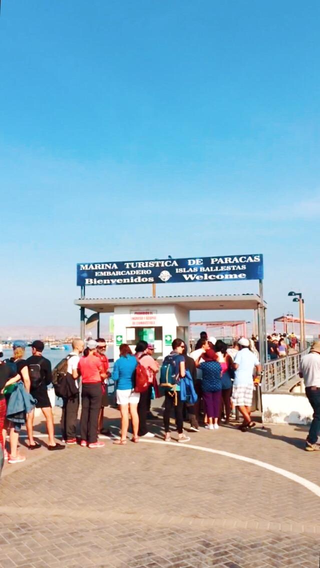 Puerto de Paracas - Embarcadero a Islas Ballestas #paracas #lima #peru #viajes