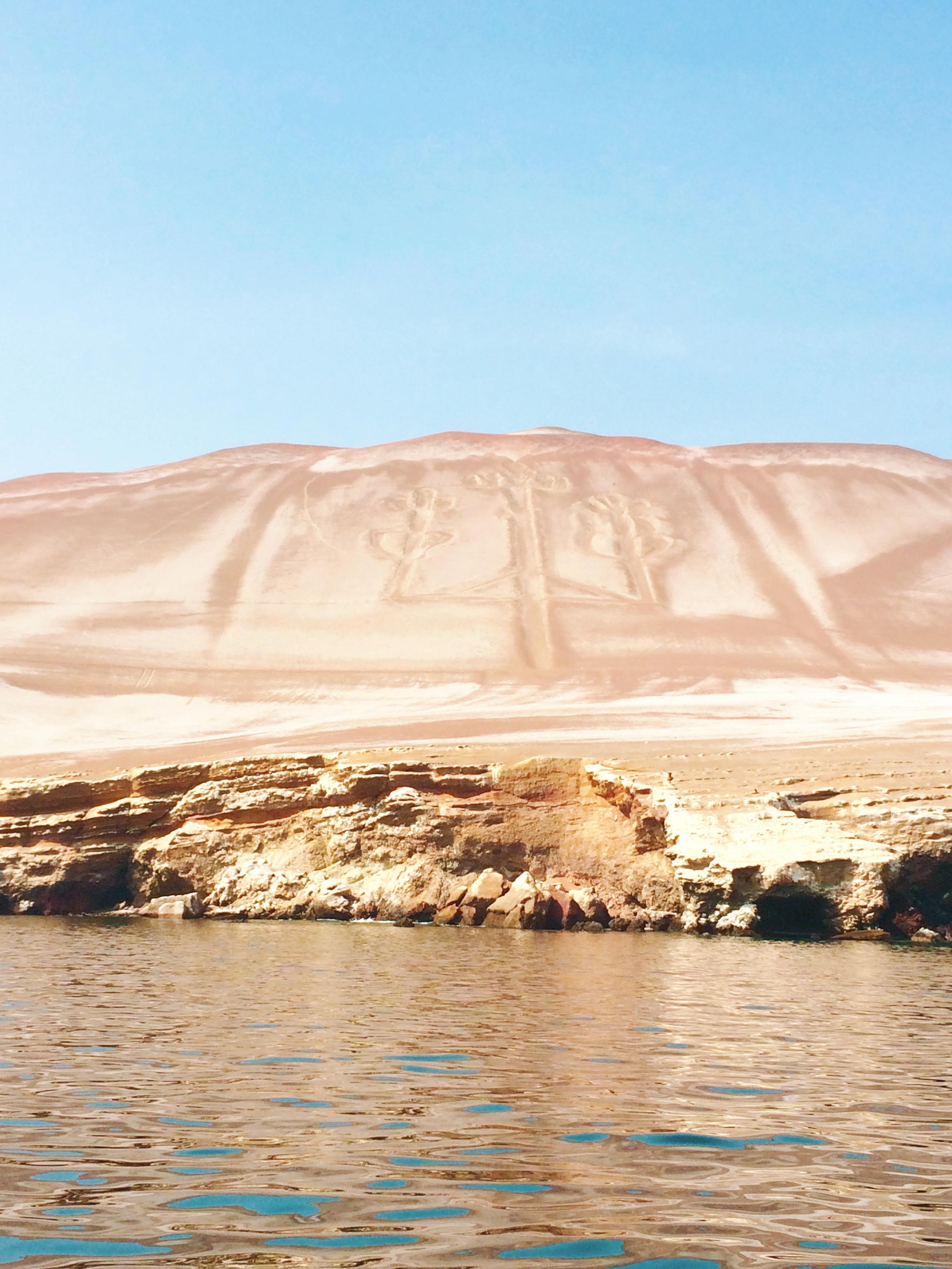 Candelabro en Paracas