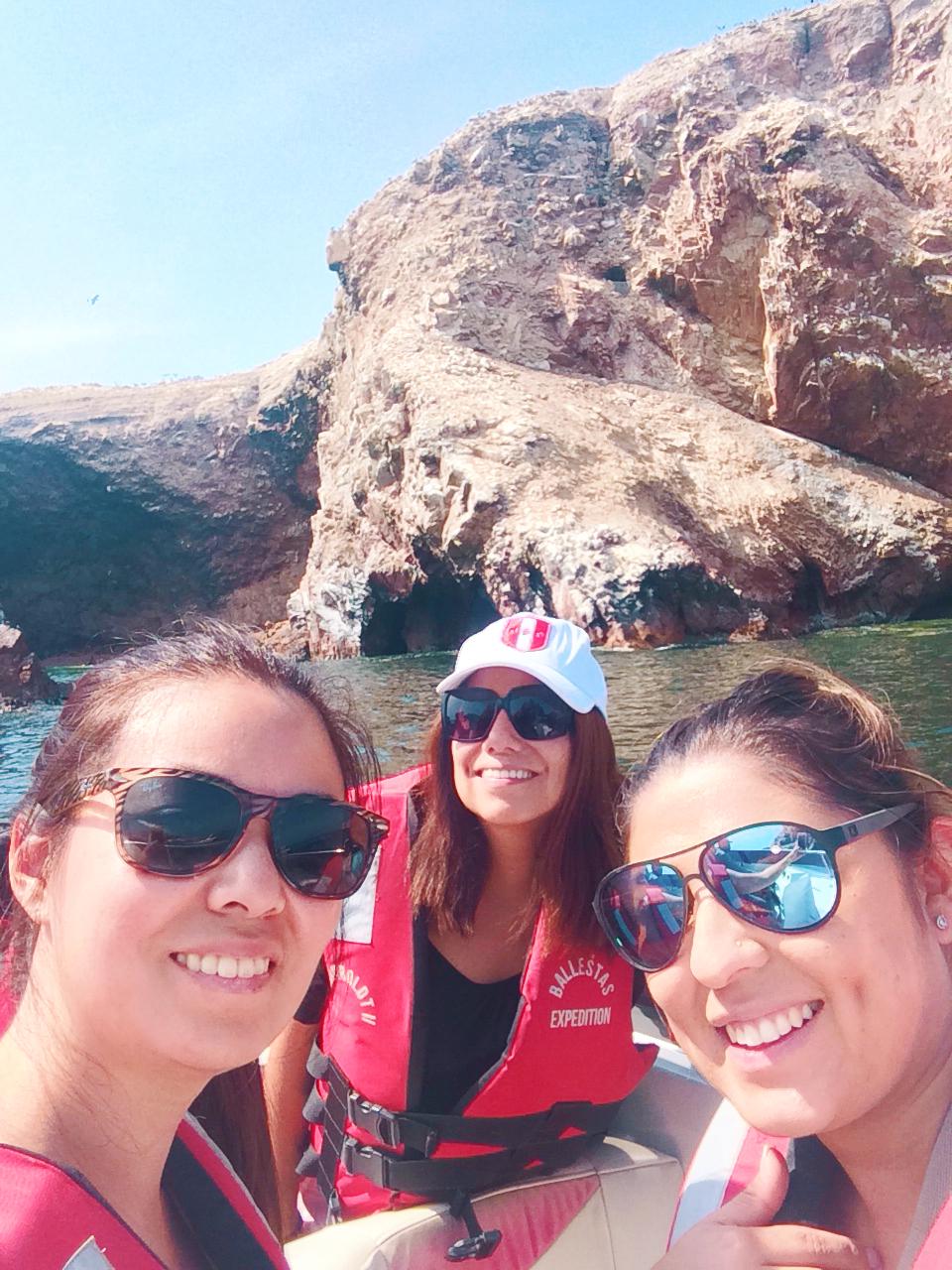 Selfie en Islas Ballestas