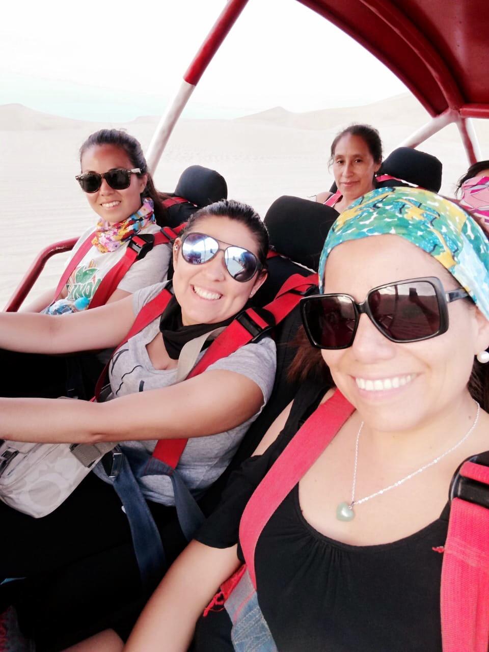 Boogies en Huacachina