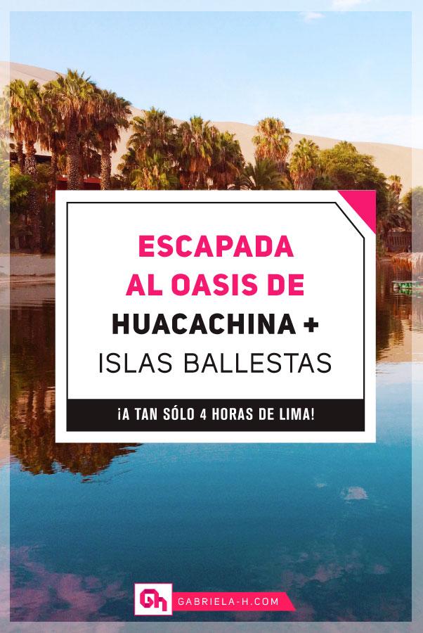 Qué hacer en Lima: Escapada de dos días a Paracas, Ica y al Oasis de Huacachina #peru #travel #viajes #turismo #ica #paracas #lima #huacachina #gabrielah