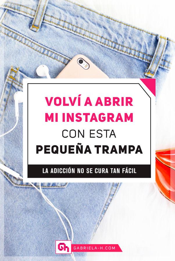 Por qué abrí mi cuenta de Instagram personal y qué hice para remediar mi adiccion al teléfono #gabrielah #productividad #instagram #adiccion